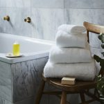 Sevin White Bath Towel