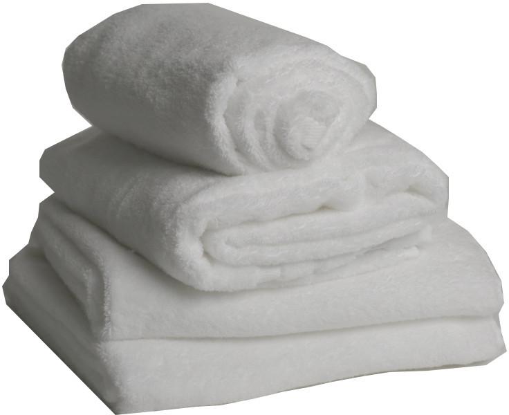 Bubble Bath Towel - White