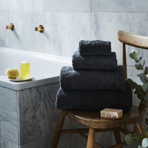 Sevin Charcoal Bath Towel